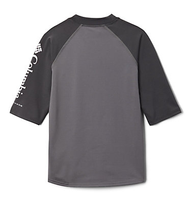 Sandy Shores™ pour enfant Haut manches courtes à protection solaire Sandy Shores™Short Sleeve Sunguard | 023 | L, City Grey, Shark, back