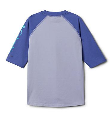 Kids' Sandy Shores™Short Sleeve Sunguard Shirt Sandy Shores™Short Sleeve Sunguard | 580 | L, Twilight, African Violet, back