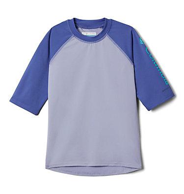 Kids' Sandy Shores™Short Sleeve Sunguard Shirt Sandy Shores™Short Sleeve Sunguard | 580 | L, Twilight, African Violet, front