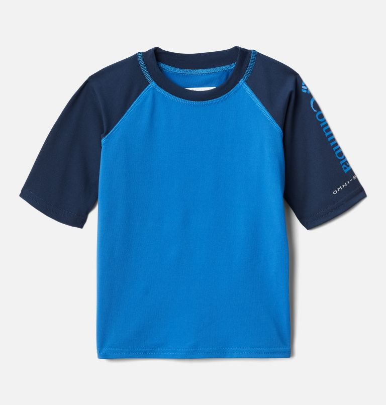 Kids' Toddler Sandy Shores™Short Sleeve Sunguard Shirt Kids' Toddler Sandy Shores™Short Sleeve Sunguard Shirt, front