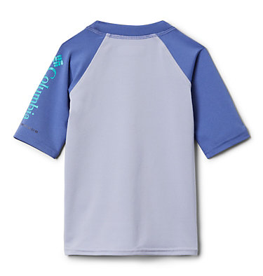 Kids' Toddler Sandy Shores™ Short Sleeve Sunguard Shirt Sandy Shores™Short Sleeve Sunguard | 580 | 2T, Twilight, African Violet, back