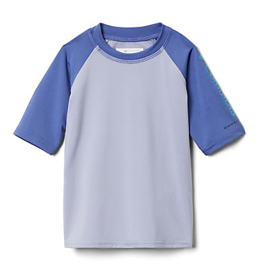 Kids' Toddler Sandy Shores™ Short Sleeve Sunguard Shirt Sandy Shores™Short Sleeve Sunguard | 580 | 2T, Twilight, African Violet, front