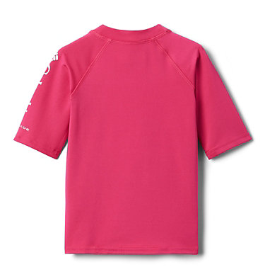 Kids' Toddler Sandy Shores™ Short Sleeve Sunguard Shirt Sandy Shores™Short Sleeve Sunguard | 580 | 2T, Cactus Pink, back