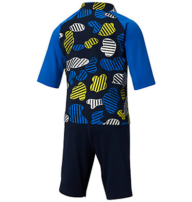 Toddler Sandy Shores™ Sunguard Suit Sandy Shores™Sunguard Suit | 378 | 2T, Collegiate Navy Camo, back