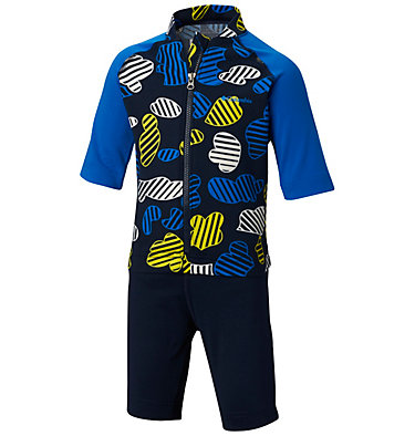 Toddler Sandy Shores™ Sunguard Suit Sandy Shores™Sunguard Suit | 378 | 2T, Collegiate Navy Camo, front
