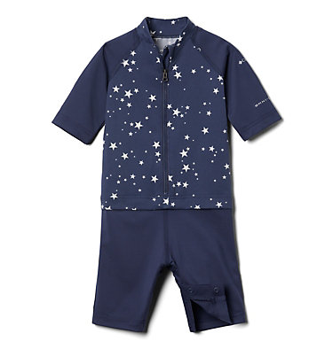 Toddler Sandy Shores™ Sunguard Suit Sandy Shores™Sunguard Suit | 378 | 2T, Nocturnal Stars, front