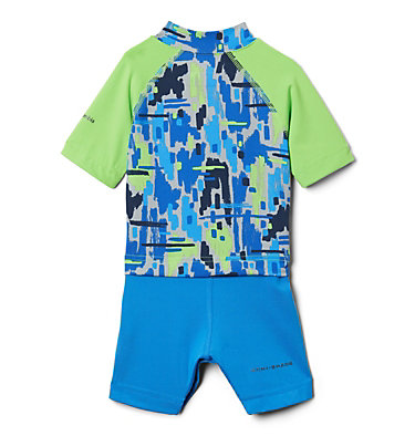 Combinaison anti-UV Sandy Shores™ pour bébé Sandy Shores™ Sunguard Suit | 378 | 6/12, Green Mamba Brushy Camo, back