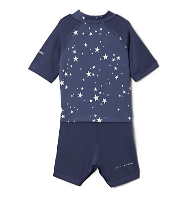 Combinaison anti-UV Sandy Shores™ pour bébé Sandy Shores™ Sunguard Suit | 378 | 6/12, Nocturnal Stars, back