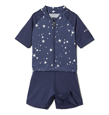 Combinaison anti-UV Sandy Shores™ pour bébé Sandy Shores™ Sunguard Suit | 378 | 6/12, Nocturnal Stars, front