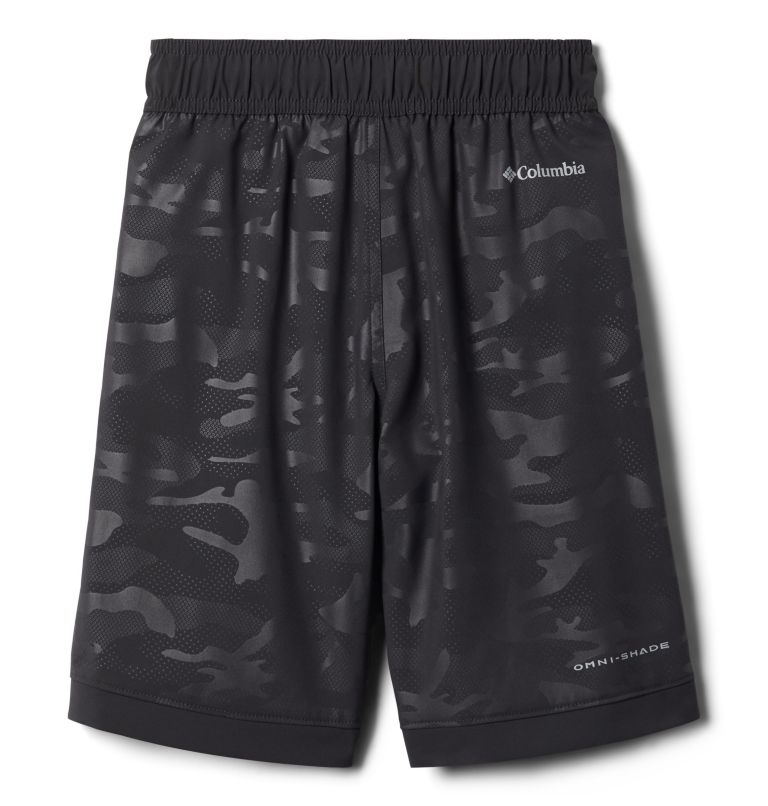 Sandy Shores™ Boardshort | 011 | S Boys' Sandy Shores™Board Shorts, Shark Camo Emboss, back