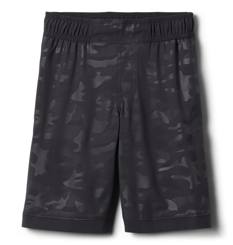 Sandy Shores™ Boardshort | 011 | S Boys' Sandy Shores™Board Shorts, Shark Camo Emboss, front