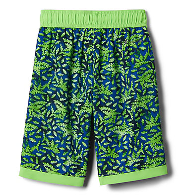 Boys' Sandy Shores™Board Shorts Sandy Shores™Boardshort   378   XL, Green Mamba Leafy Predators, Green Mamba, back