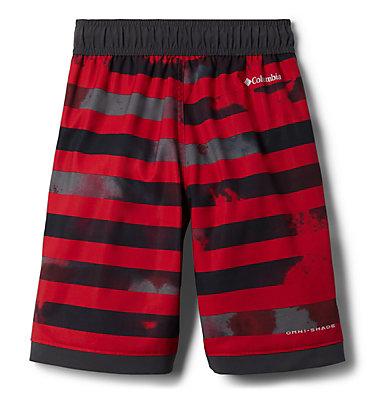 Boys' Sandy Shores™Board Shorts Sandy Shores™Boardshort | 441 | XL, Mtn Red Tie Dye Stripe, Shark, back