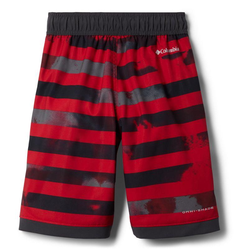 Sandy Shores™Boardshort   614   XXS Boys' Sandy Shores™Board Shorts, Mtn Red Tie Dye Stripe, Shark, back