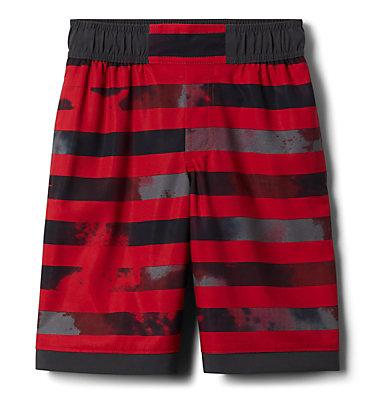 Boys' Sandy Shores™Board Shorts Sandy Shores™Boardshort | 441 | XL, Mtn Red Tie Dye Stripe, Shark, front
