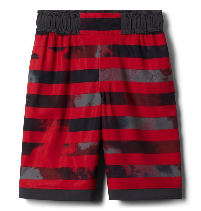 Sandy Shores™Boardshort   614   XXS Boys' Sandy Shores™Board Shorts, Mtn Red Tie Dye Stripe, Shark, front