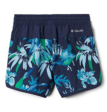 Girls' Sandy Shores™Board Shorts Sandy Shores™Boardshort | 469 | S, Nocturnal Magnolia Floral, back