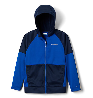 Chaqueta polar con cremallera completa Everyday Easy™ para jóvenes Everyday Easy™ Full Zip Fleece | 627 | L, Azul, Collegiate Navy, front