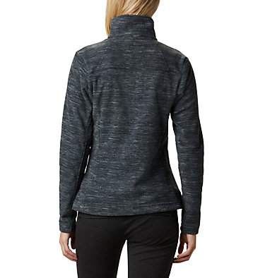 Women's Fast Trek™ Light Printed Fleece Jacket Fast Trek™ Light Printed Full  | 466 | L, Black Spacedye, back