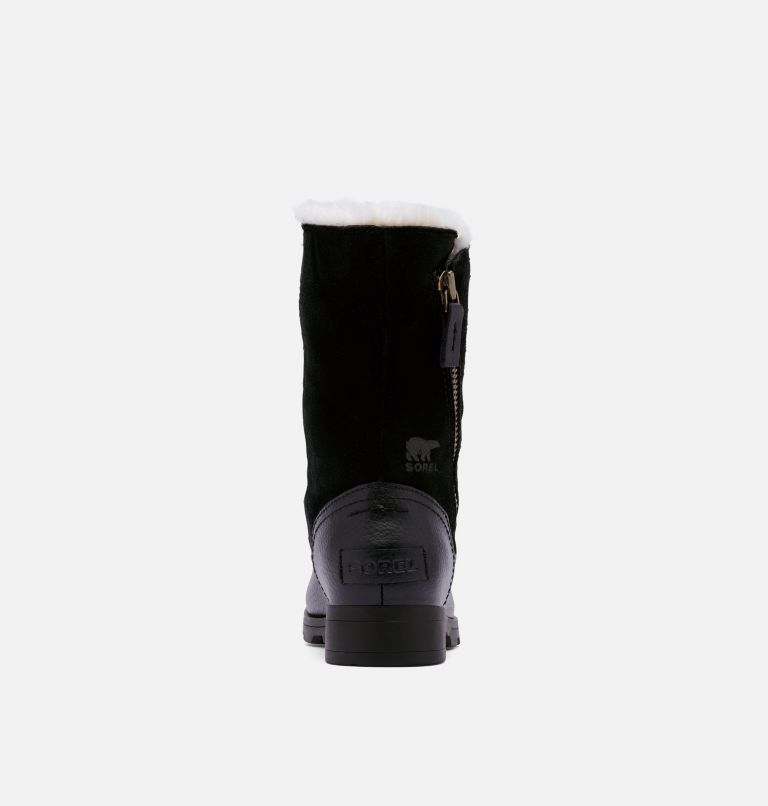 YOUTH EMELIE™ FOLD-OVER | 010 | 1 Bota plegable Emelie™ para niños, Black, Black, back