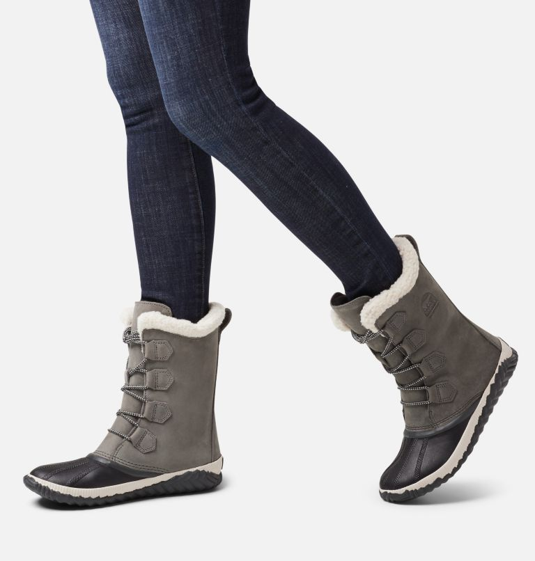 OUT N ABOUT™ PLUS TALL | 053 | 5.5 Womens Out N About™ Plus Tall Duck Boot, Quarry, Coal, a9
