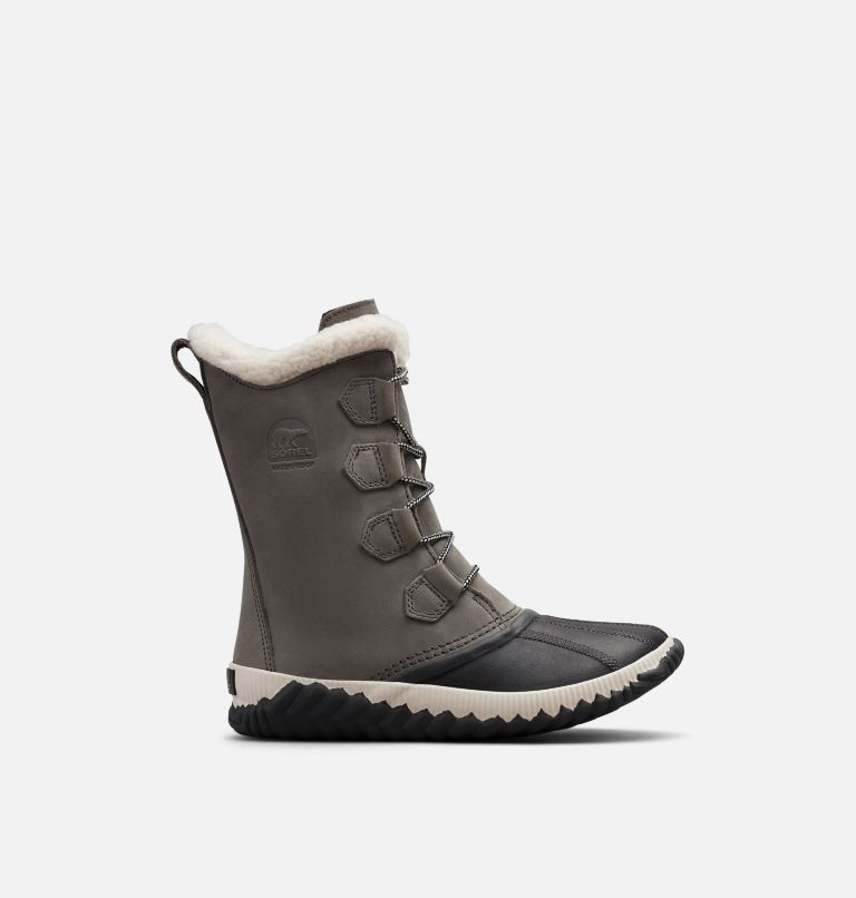 OUT N ABOUT™ PLUS TALL | 053 | 7 Womens Out N About™ Plus Tall Duck Boot, Quarry, Coal, front