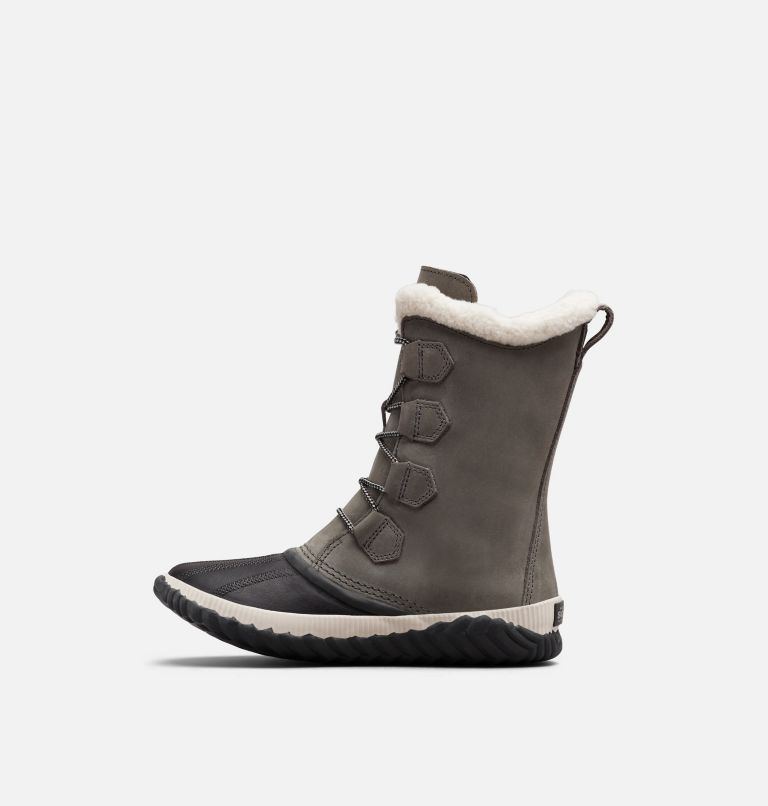 OUT N ABOUT™ PLUS TALL | 053 | 7 Womens Out N About™ Plus Tall Duck Boot, Quarry, Coal, medial