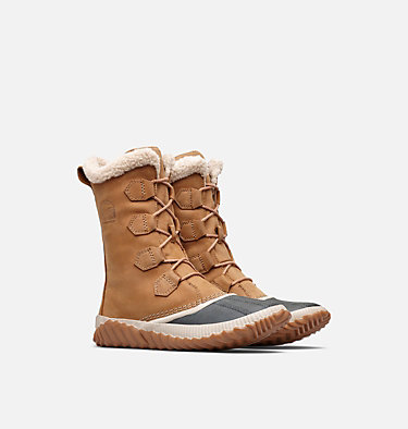 Womens Out N About™ Plus Tall Duck Boot OUT N ABOUT™ PLUS TALL | 053 | 10, Elk, 3/4 front