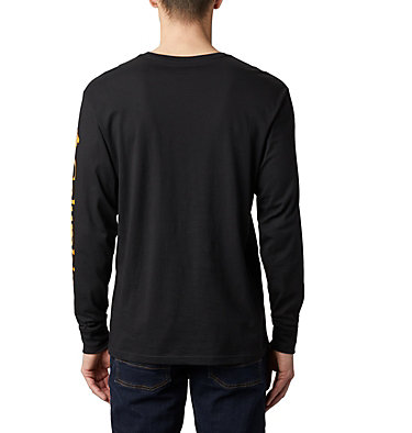T-shirt Manches Longues North Cascades™ Homme North Cascades™ Long Sleeve Te | 100 | L, Black, Golden Yellow, back