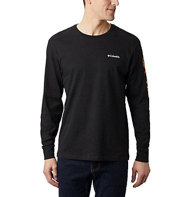 T-shirt Manches Longues North Cascades™ Homme North Cascades™ Long Sleeve Te | 100 | L, Black, Golden Yellow, front