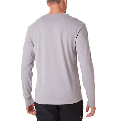 T-shirt Manches Longues North Cascades™ Homme North Cascades™ Long Sleeve Te | 100 | L, Columbia Grey Heather, Stinger, back