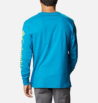T-shirt Manches Longues North Cascades™ Homme North Cascades™ Long Sleeve Te | 100 | L, Fjord Blue, back