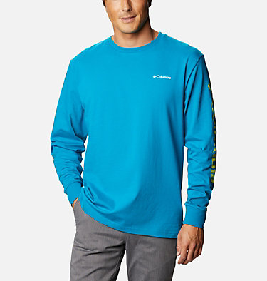 T-shirt Manches Longues North Cascades™ Homme North Cascades™ Long Sleeve Te | 100 | L, Fjord Blue, front