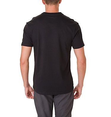 T-shirt North Cascades™ Homme North Cascades™ Short Sleeve Tee | 386 | S, Black, Mountain Red, back