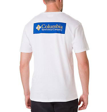 Men's North Cascades™ Tee Shirt North Cascades™ Short Sleeve Tee | 386 | S, White, Azul, back