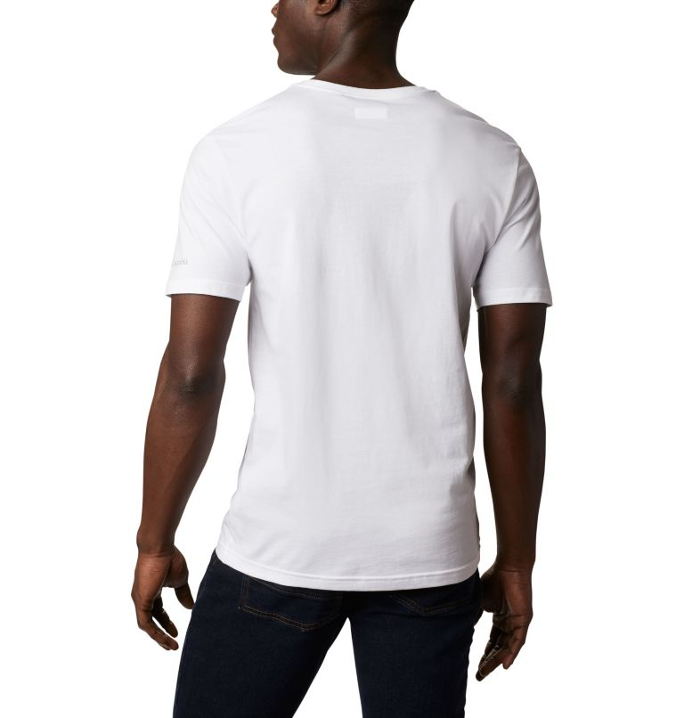 North Cascades™ Short Sleeve T | 112 | M T-shirt North Cascades™ Homme, White, back