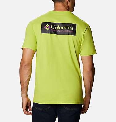 T-shirt North Cascades™ Homme North Cascades™ Short Sleeve Tee | 386 | S, Bright Chartreuse, back