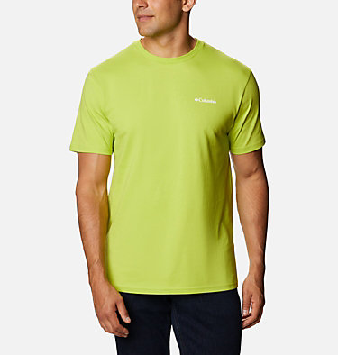 T-shirt North Cascades™ Homme North Cascades™ Short Sleeve Tee | 386 | S, Bright Chartreuse, front