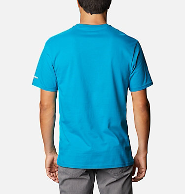 T-shirt North Cascades™ Homme North Cascades™ Short Sleeve Tee | 386 | S, Fjord Blue, back