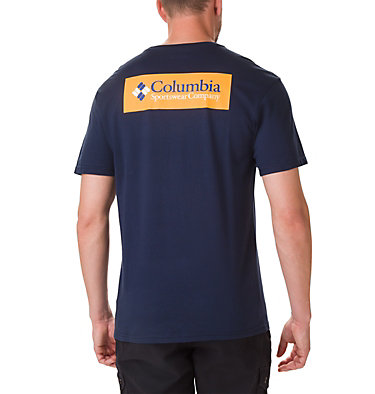 T-shirt North Cascades™ Homme North Cascades™ Short Sleeve Tee | 386 | S, Collegiate Navy, Stinger, back