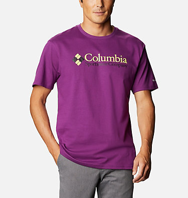 T-shirt North Cascades™ Homme North Cascades™ Short Sleeve Tee | 386 | S, Plum, front
