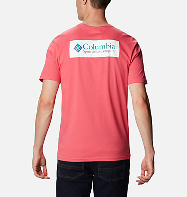 T-shirt North Cascades™ Homme North Cascades™ Short Sleeve Tee | 386 | S, Bright Geranium, back