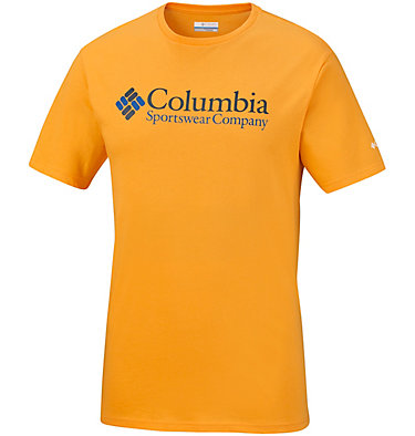 Men's North Cascades™ Tee Shirt North Cascades™ Short Sleeve Tee | 386 | S, Stinger, Collegiate Navy, front