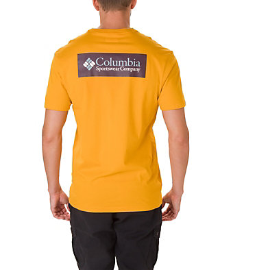 T-shirt North Cascades™ Homme North Cascades™ Short Sleeve Tee | 386 | S, Golden Yellow, Black Cherry, back