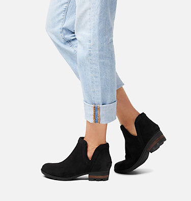 Women's Lolla™ Cut-Out Bootie LOLLA™ CUT OUT BOOTIE | 224 | 7.5, Black, video