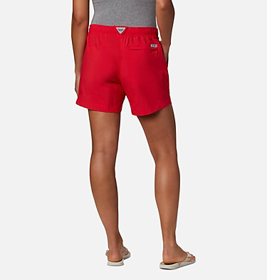 Women's PFG Backcast™ Water Shorts W Backcast™ Water Short | 462 | XS, Red Lily, back