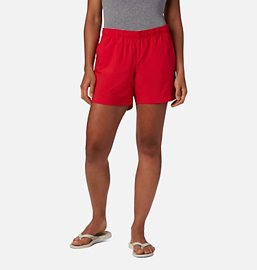 Women's PFG Backcast™ Water Shorts W Backcast™ Water Short | 462 | XS, Red Lily, front