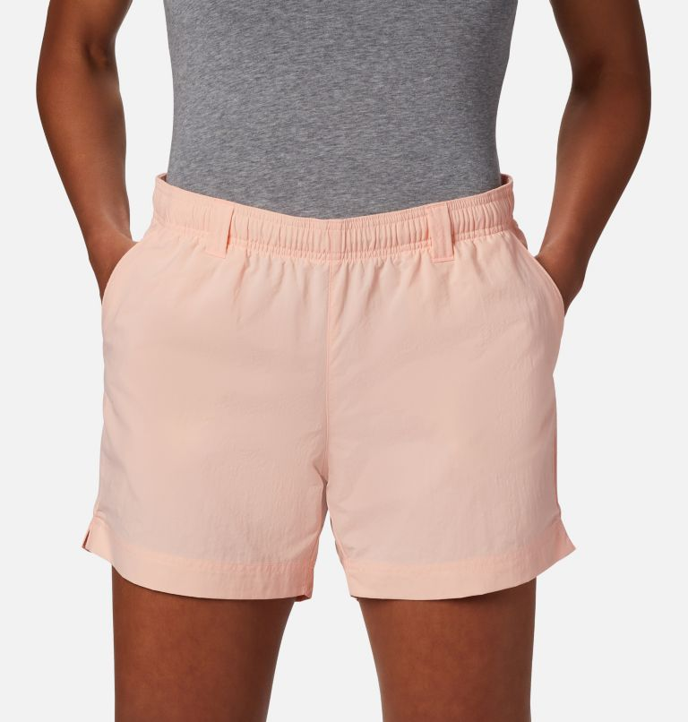 W Backcast™ Water Short | 807 | S Women's PFG Backcast™ Water Shorts, Tiki Pink, a3
