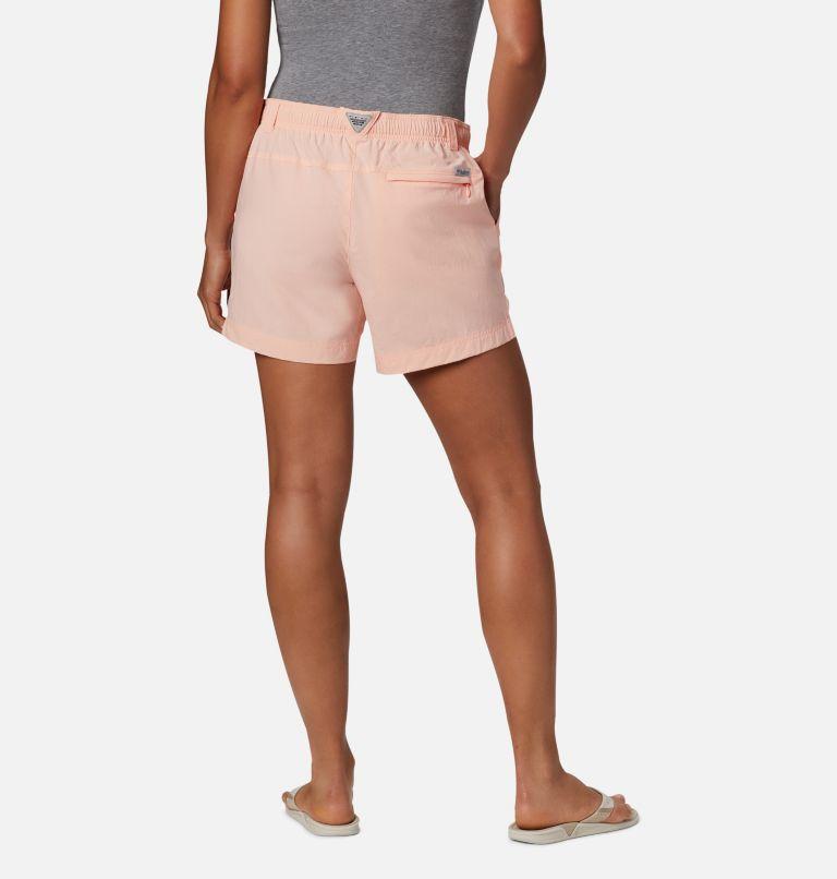 W Backcast™ Water Short | 807 | S Women's PFG Backcast™ Water Shorts, Tiki Pink, back