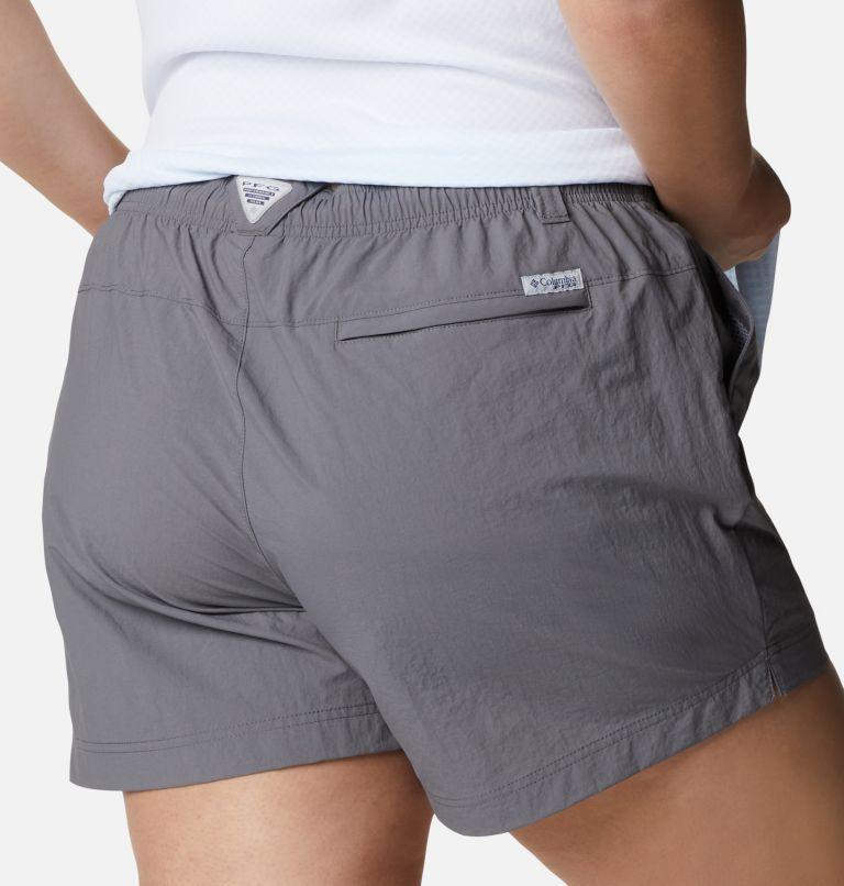 W Backcast™ Water Short | 023 | 3X Women's PFG Backcast™ Water Shorts - Plus Size, City Grey, a3